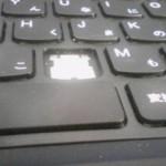 lenovoのノートPC、購入6日後にキーボードが破損
