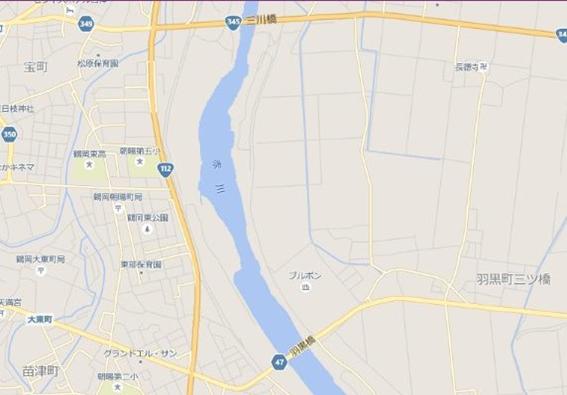 赤川 打ち上げ場所