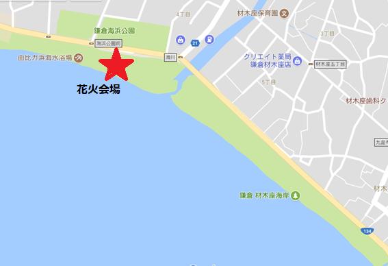 神奈川県鎌倉市 由比ヶ浜、材木座海岸