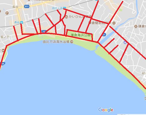 鎌倉 屋台出店場所