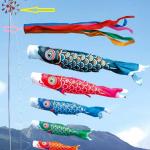 鯉のぼりの意味と由来を解説!色にはどんな意味があるのか?
